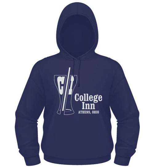 College Inn Hooded Sweatshirt in navy