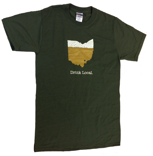 Drink Local Athens Ohio T-Shirt