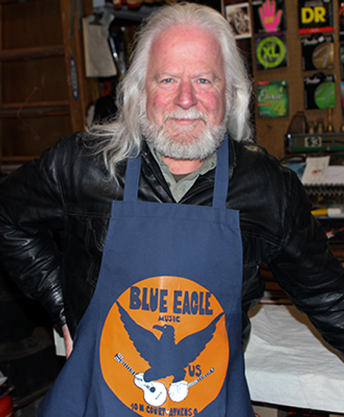 Blue Eagle Music Apron - Frank