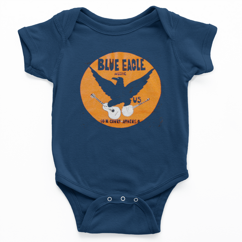 Blue Eagle Music Onesie