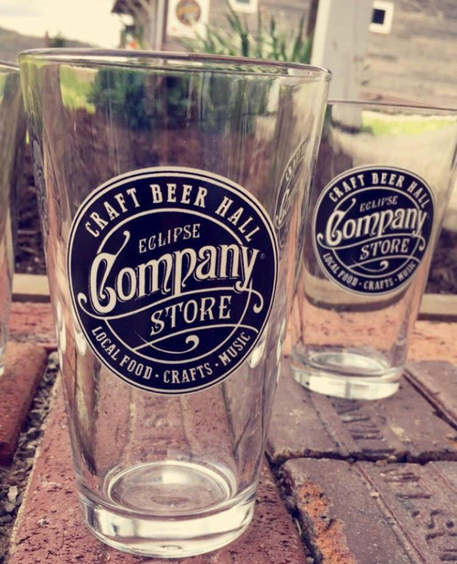 Eclipse Company Store Pint Glasses - Set of 2
