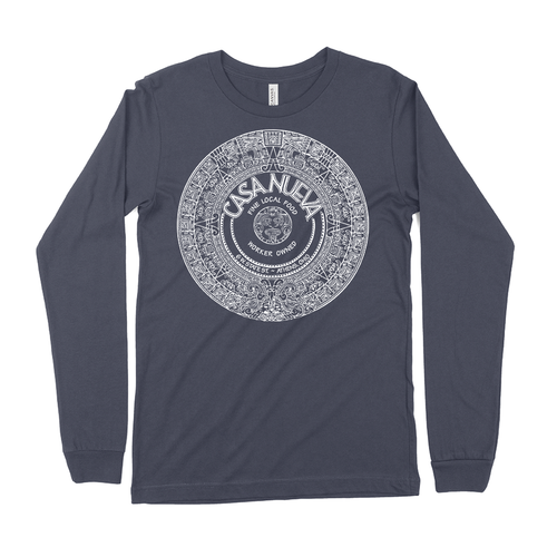 Casa Nueva Navy Blue Long-Sleeved T-Shirt
