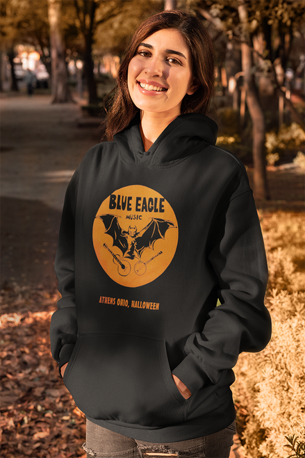 Blue Eagle Music Halloween Black Hoodie