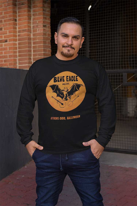 Blue Eagle Music Halloween Long-Sleeved T-Shirt