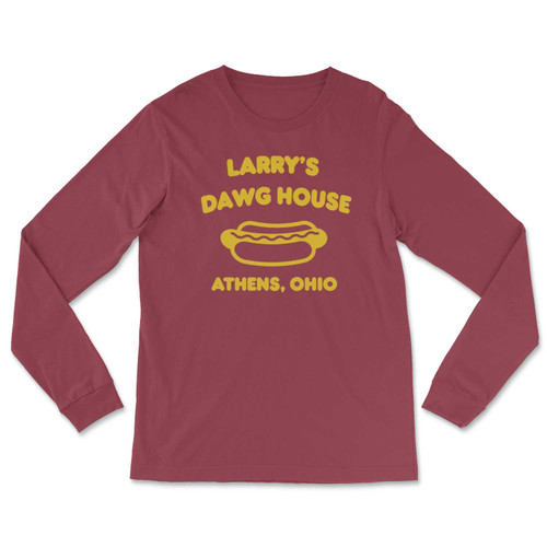 Larry's Dawg House Long-Sleeved T-Shirt