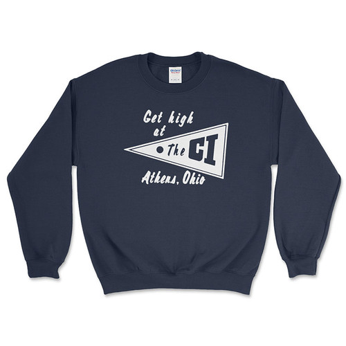 The C.I. Crewneck Sweatshirt - Navy Blue