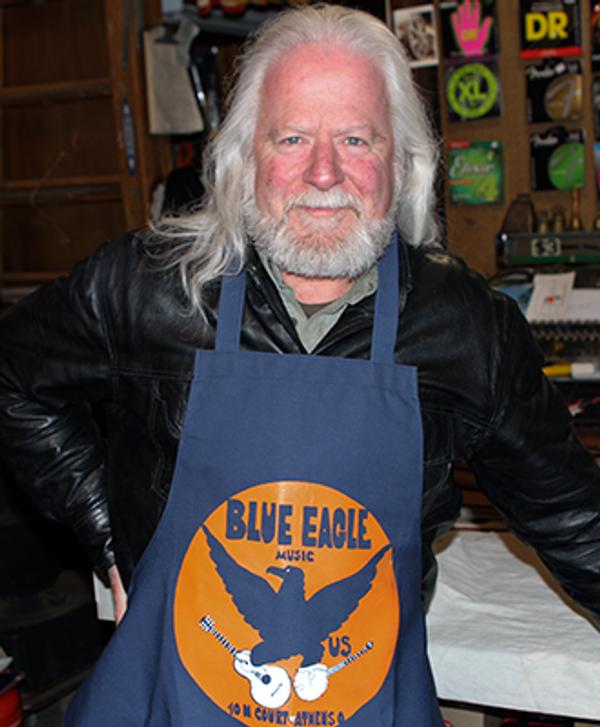 Blue Eagle Music Apron - Frank