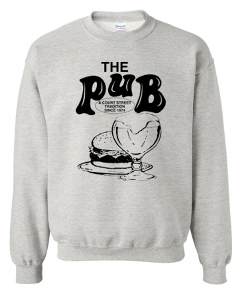 The Pub Bar Grey Crewneck Sweatshirt
