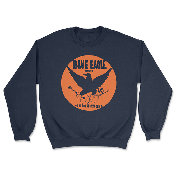 Blue Eagle Music Navy Blue Crewneck Sweatshirt