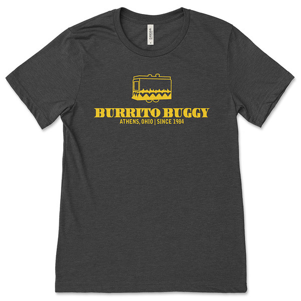 Burrito Buggy Yellow Logo T-Shirt