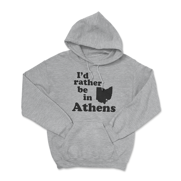 I'd Rather Be In Athens - Hoodie