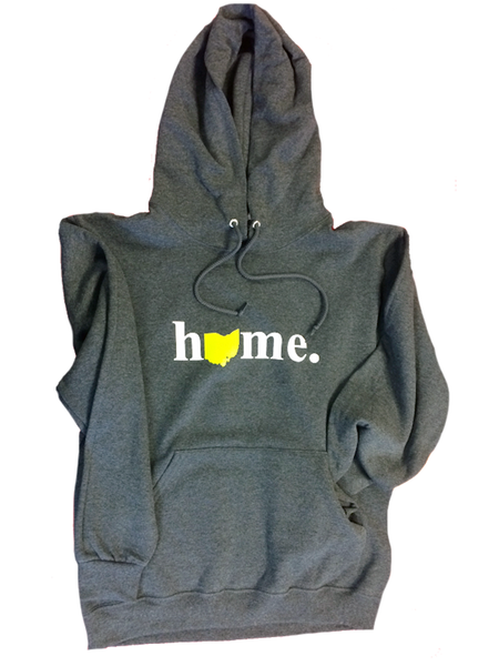Ohio Home Hooded Sweatshirt - Precision Imprint