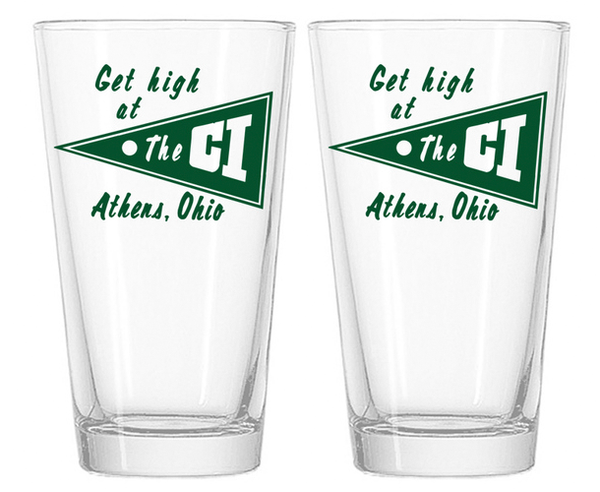 Set of CI Pints - Get High at the CI