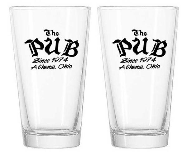 The Pub Pint Glasses