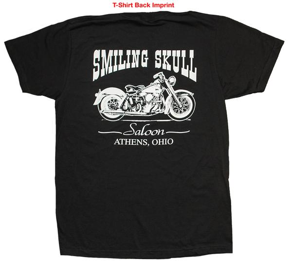 Smiling Skull Saloon - Back Imprint