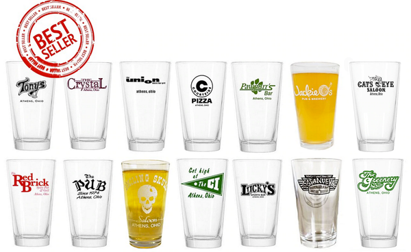 Ultimate Court Street Collection - Set of 14 Pint Glasses