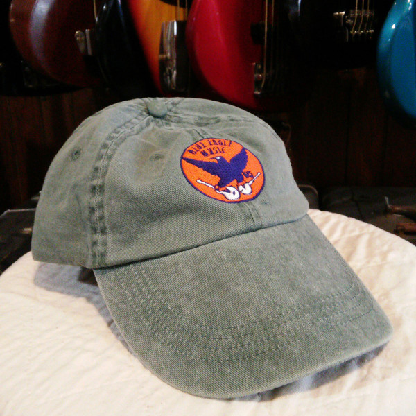 Blue Eagle Music Adjustable Hat - Faded Khaki