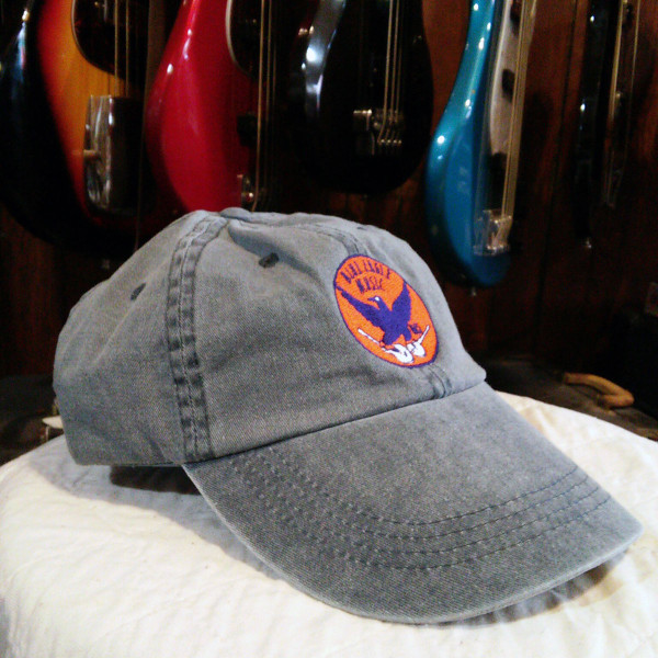 Faded Navy Adjustable Blue Eagle Music Hat