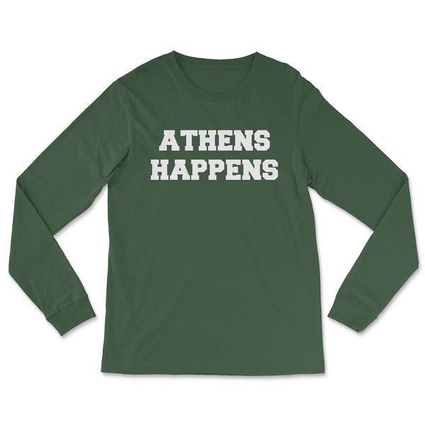 Athens Happens Long-Sleeved T-Shirt