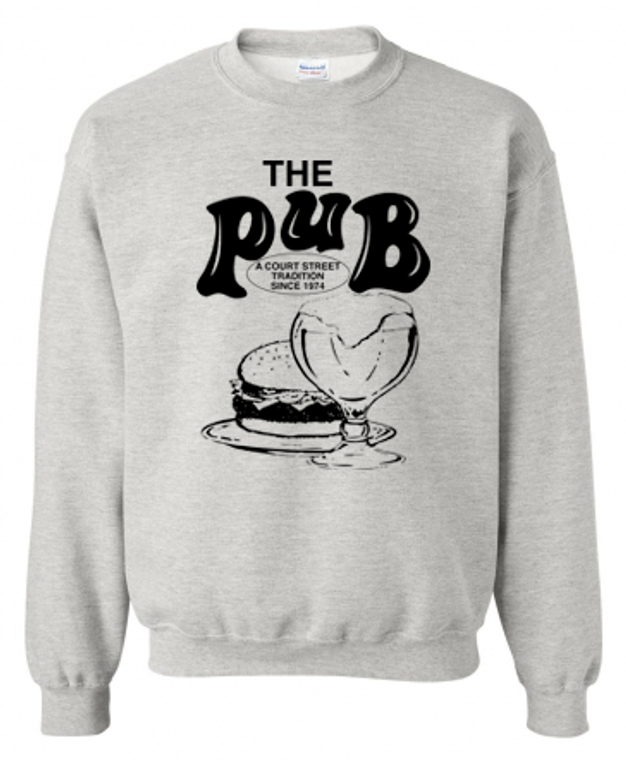 The Pub Bar Grey Crewneck Sweatshirt