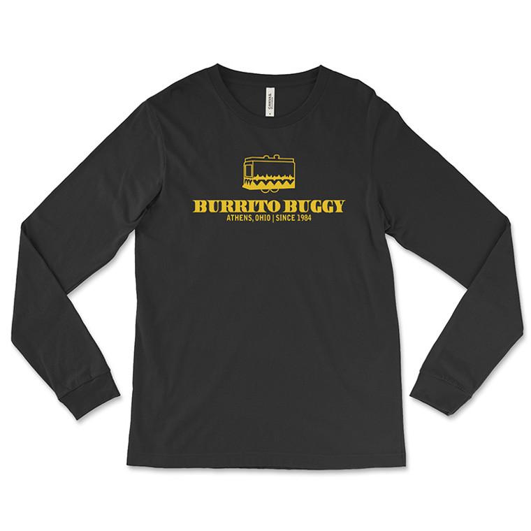 Burrito Buggy Yellow Logo Long-Sleeved T-Shirt