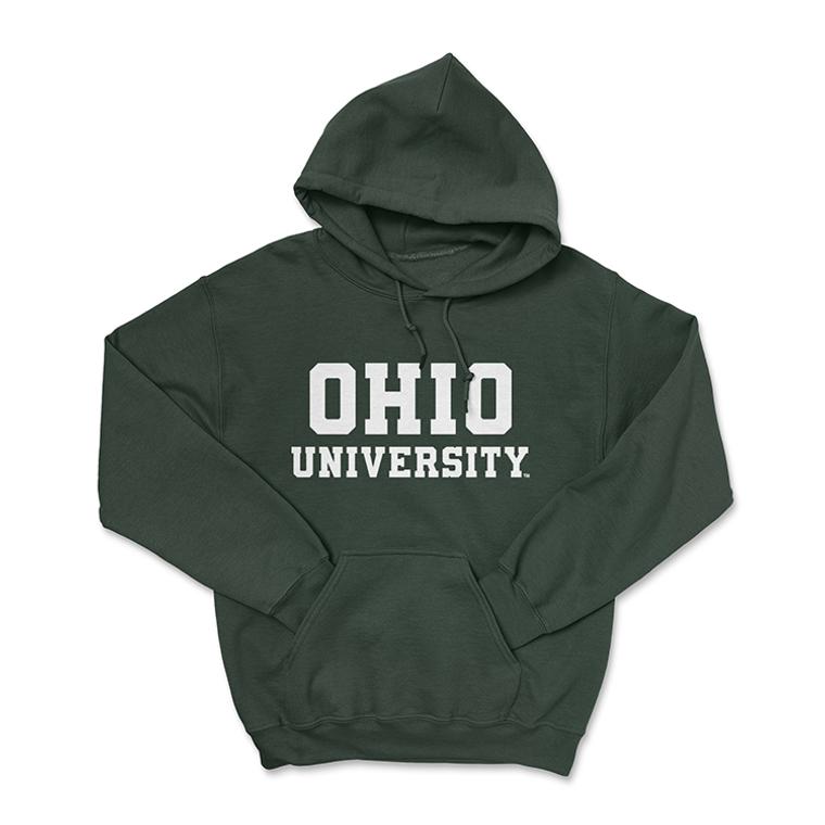 Ohio University Hoodie - Classic Green