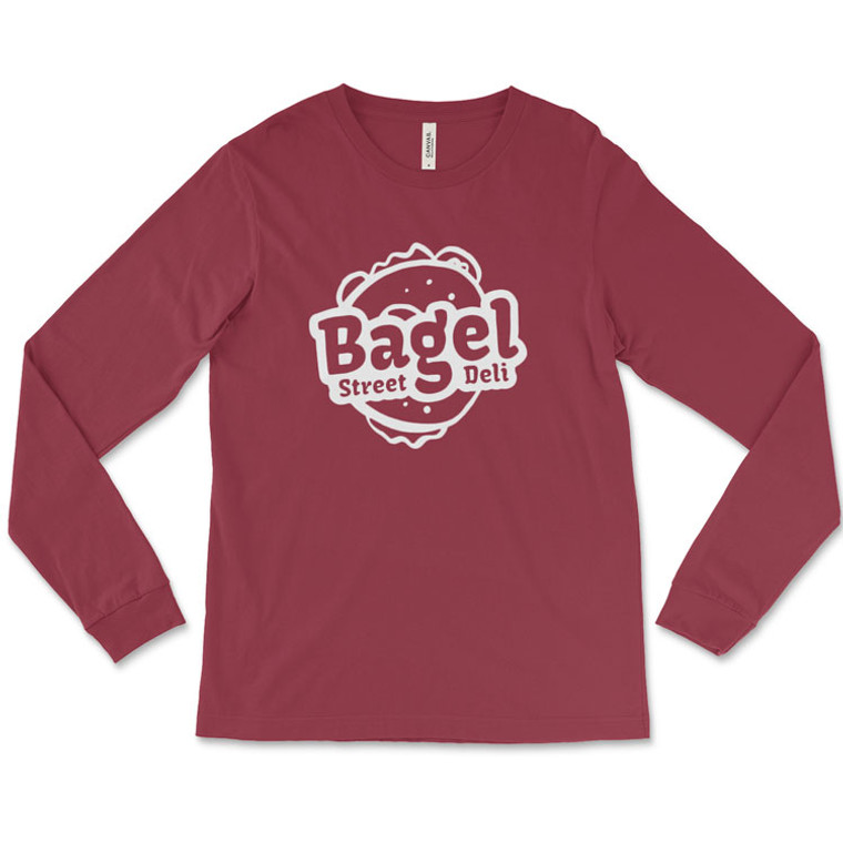 Bagel Street Deli Long-Sleeve T-Shirt