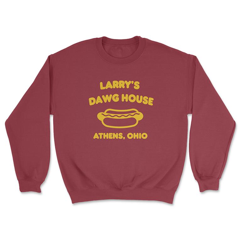 Larry's Dawg House  Crewneck Sweatshirt