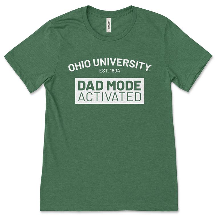 Ohio University Dad Mode Green T-Shirt