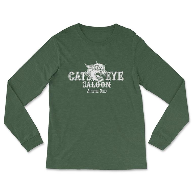 Cat's Eye Long-Sleeved T-Shirt