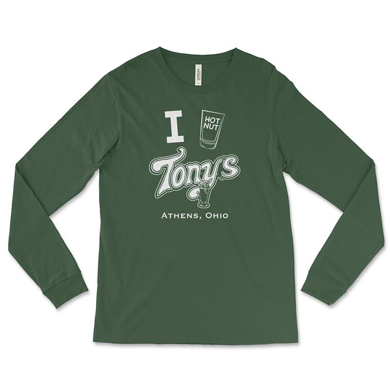 Tony's Tavern Hot Nut Long-Sleeved T-Shirt