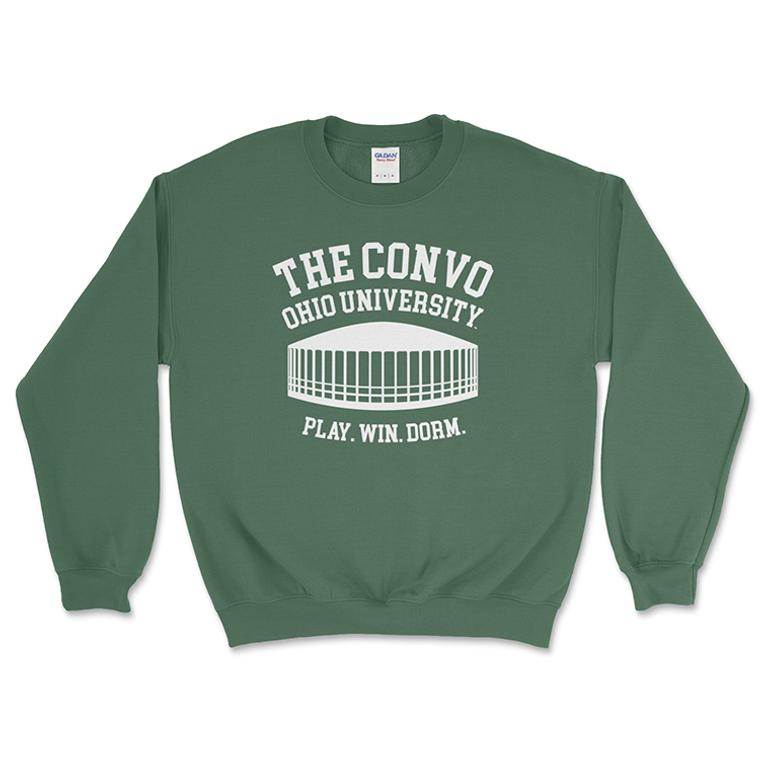 The Convo   Ohio University Crewneck Sweatshirt