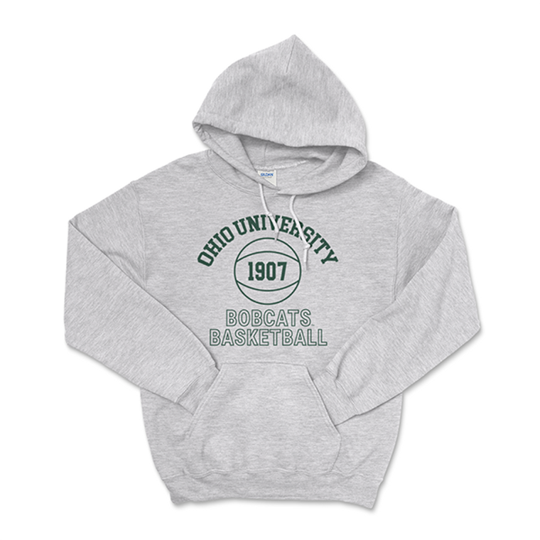 Ohio University Bobcat Basketball Hoodie