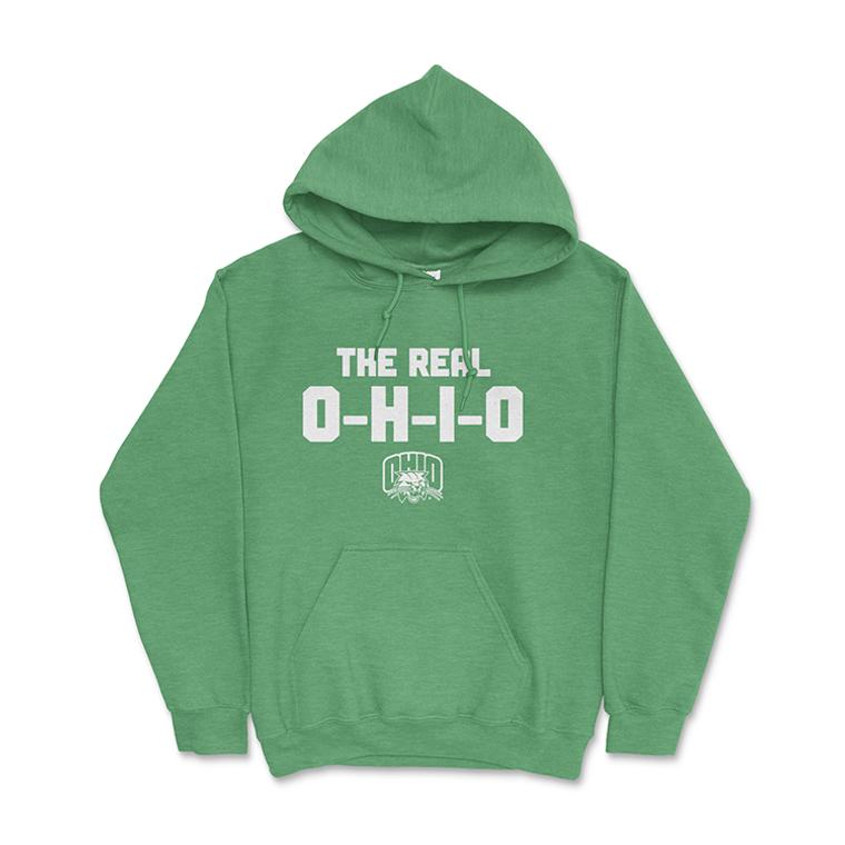 The Real OHIO  | Ohio University Hoodie