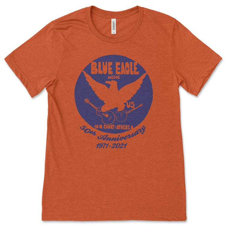 Blue Eagle Music 50th Anniversary T-Shirt