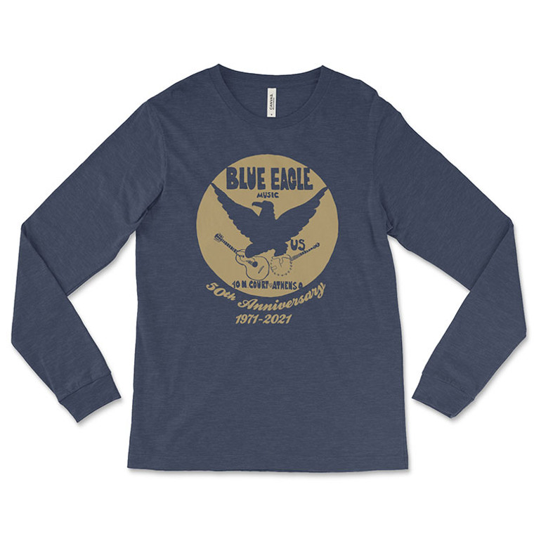 Blue Eagle Music 50th Anniversary Long Sleeve T-Shirt