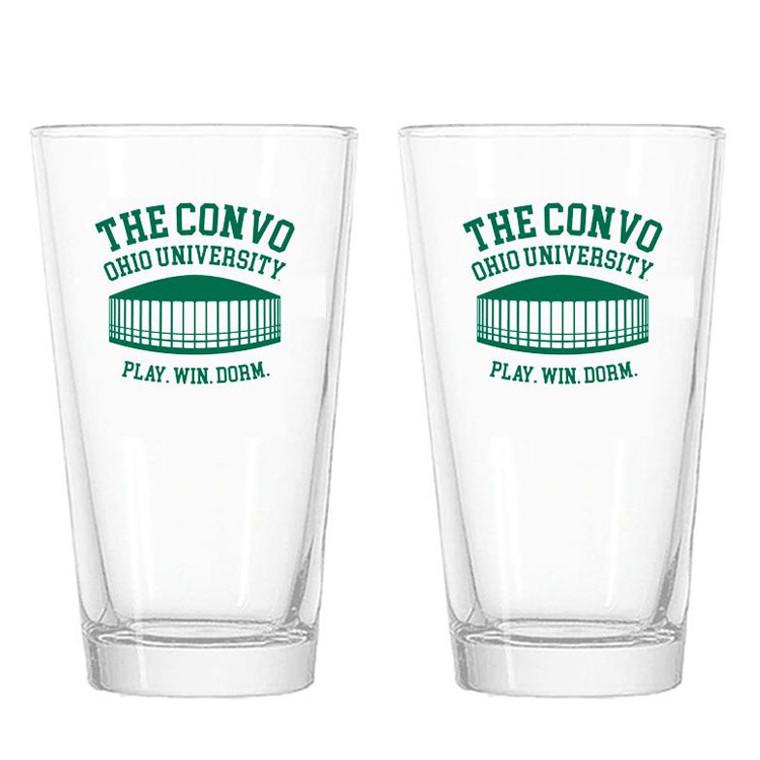 Ohio University Convo Pint Glasses - Set of 2