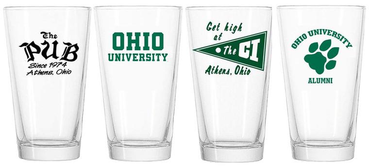 Ohio University Collection - Mix & Match Set of 4