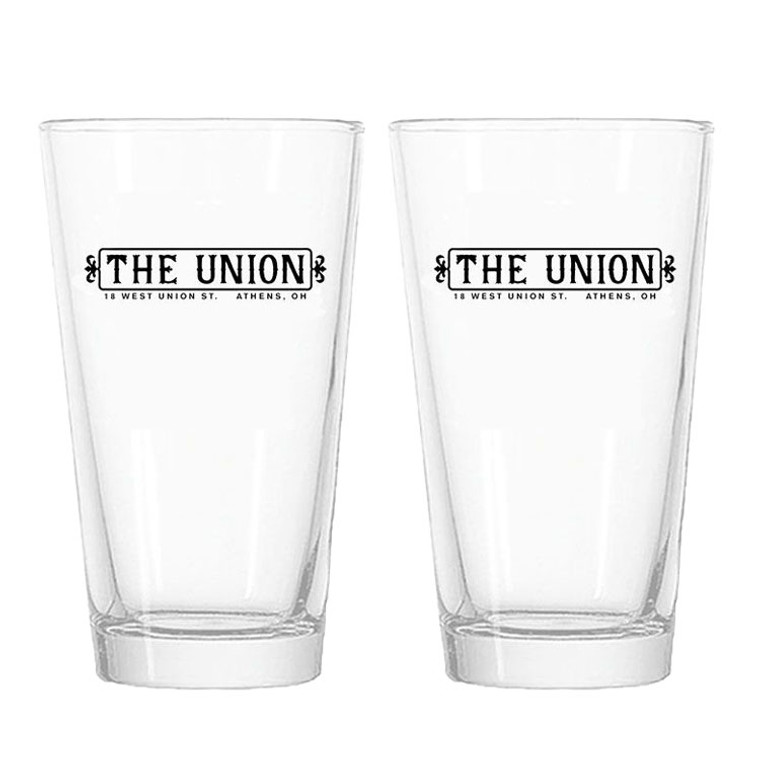 The New Union Pint Glasses - Set of 2