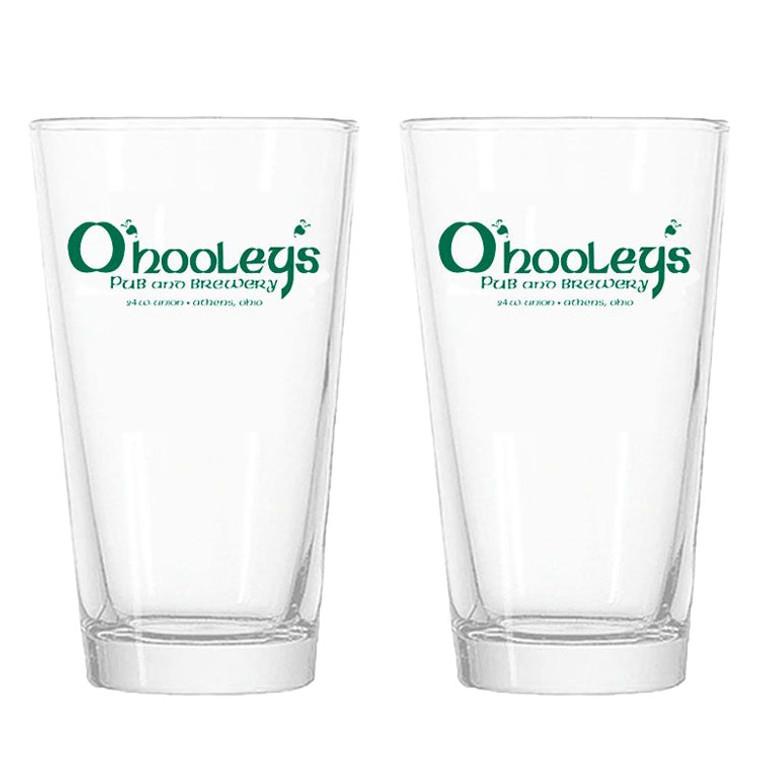 O'Hooley's Pub Pint Glasses - Set of 2