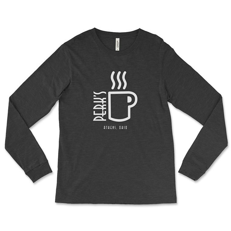 Perk's Coffee House Long-Sleeve T-Shirt