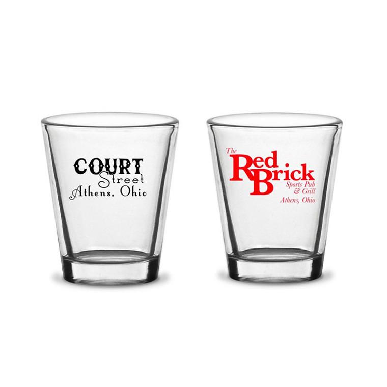 Mix and Match Shot Glasses - Set of 2