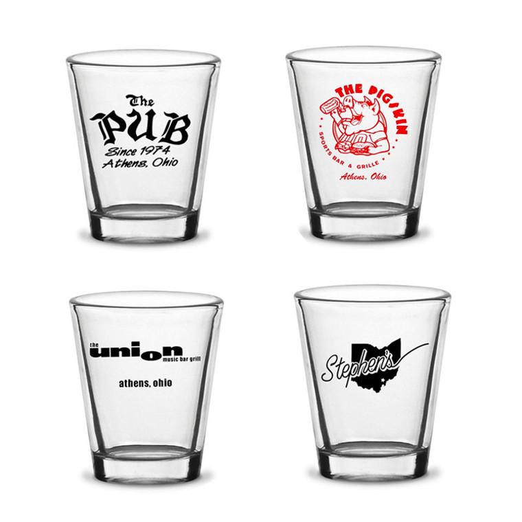Mix and Match Shot Glasses - Set of 4