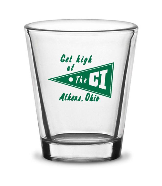 The CI Shot Glass
