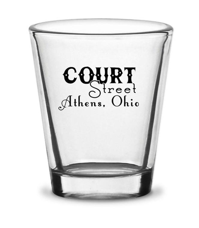Court Street Shot Glass