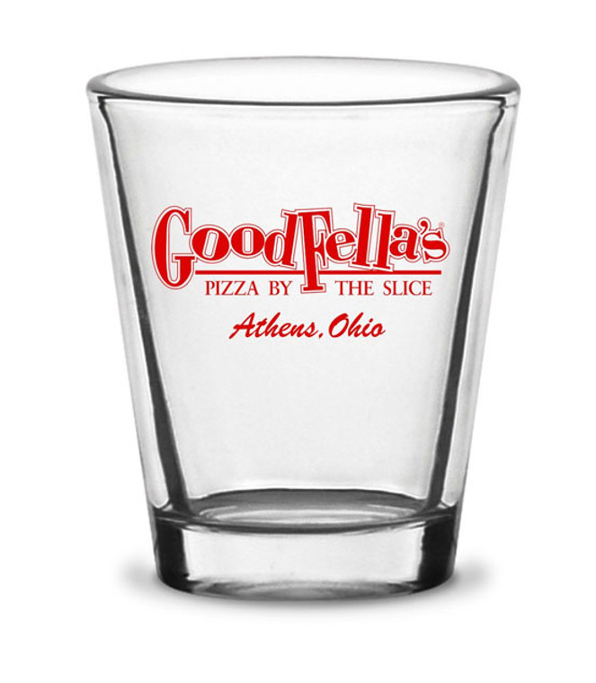 Goodfella's Pizza Shot Glass