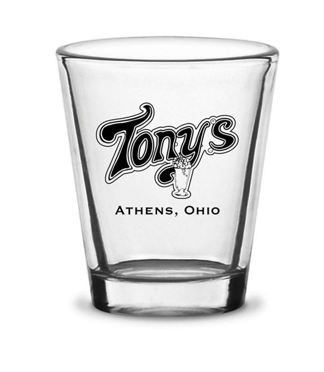 Tony's Shot Glass