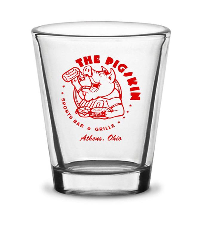 The Pigskin Shot Glass
