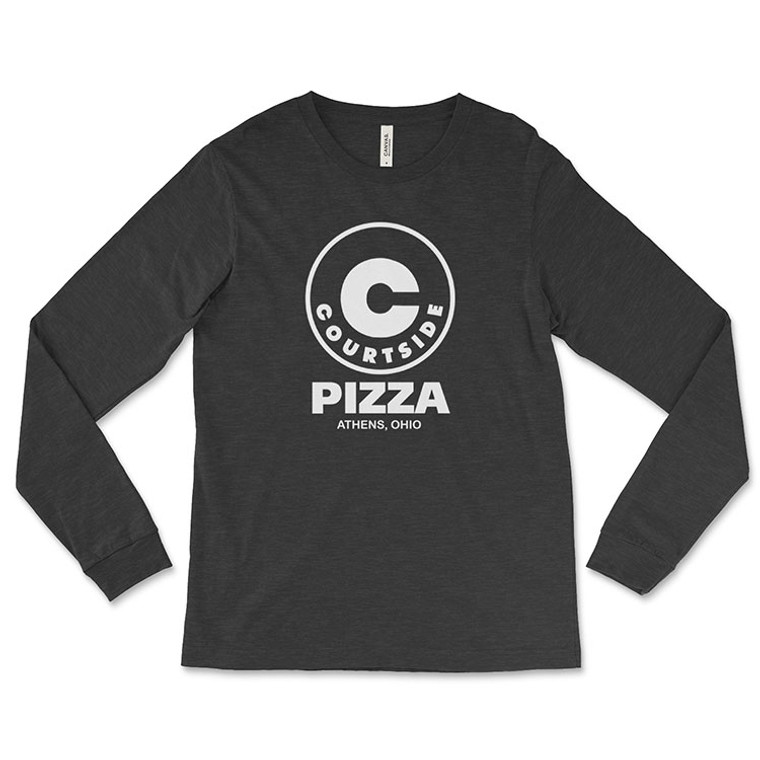 Courtside Pizza Long-Sleeve T-Shirt