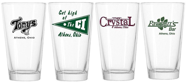 Court Street Collection - Set of 4 Pint Glasses